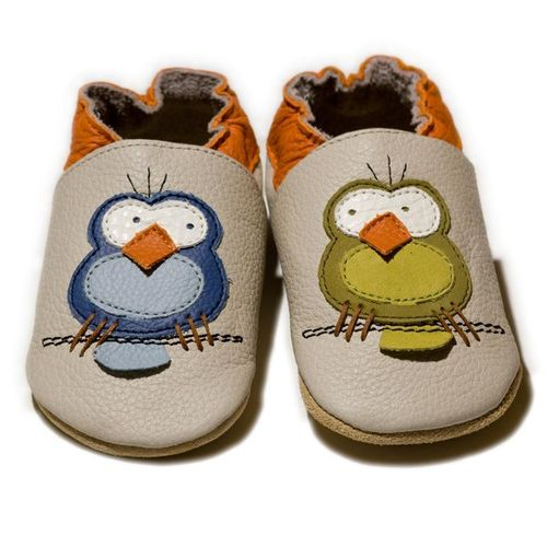 Liliputi Soft Baby Shoes Silent Birds